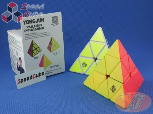 YongJun Pyraminx YuLong Kolorowa