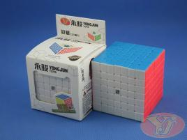 YongJun GuanFu (YuFu) 7x7x7 Kolorowa