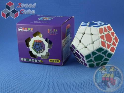 ShengShou Megaminx Auora Biały