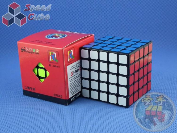 ShengShou 5x5x5 Wind Czarna