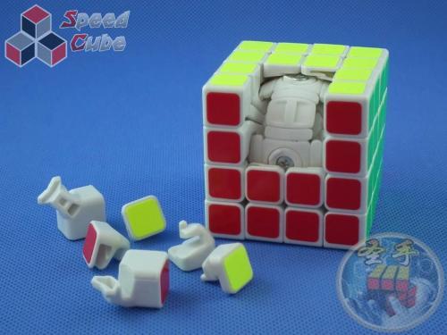 ShengShou Wind 4x4x4 Biała