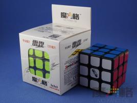 MoFangGe QiYi Thunder Clap (LeiTing) 3x3x3 Czarna
