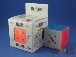 MoFangGe QiYi Thunder Clap (LeiTing) 3x3x3 Kolorowa