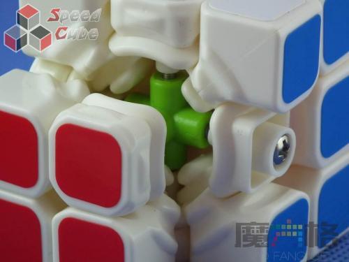 QiYi Mo Fang Ge Thunder Clap (LeiTing) Biała