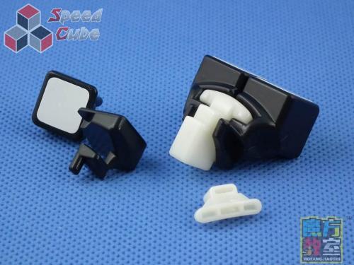 MoYu MoFang JiaoShi 4x4x4 MF4 Czarna