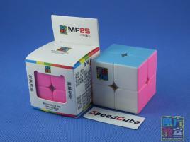 MoYu MoFang JiaoShi 2x2x2 MF2s Kolorowa Pink