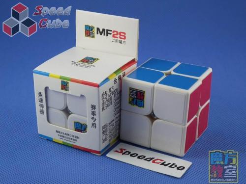 MoYu MoFang JiaoShi 2x2x2 MF2s Biała