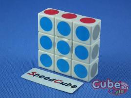 Cube Style Floppy 1x3x3 White
