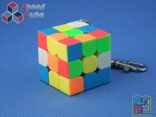 MoYu MoFang JiaoShi Mini 3x3x3 40 mm Kolorowa Brelok