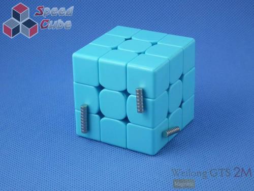 MoYu WeiLong GTS2 Magnetic 3x3x3 Blue