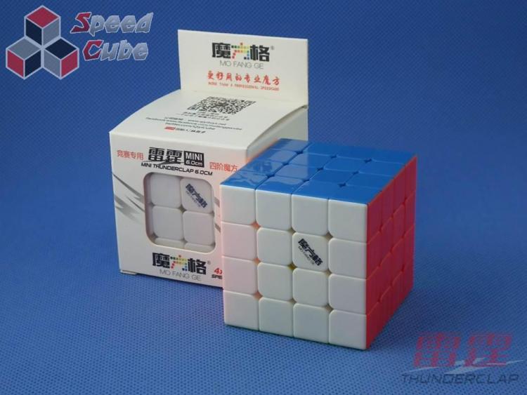 MoFangGe QiYi Thunder Clap 60 mm 4x4x4 Kolorowa
