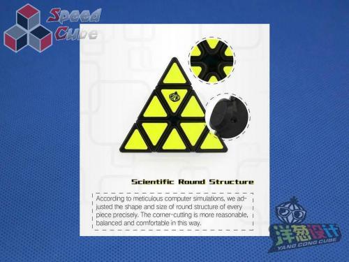 MoYu Cong's Design MeiChi Pyraminx Kolorowa