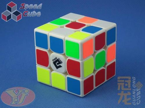 YongJun GuanLong Plus 3x3x3 Biała