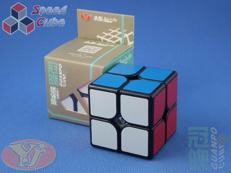 YongJun GuanPo Plus 2x2x2 Czarna
