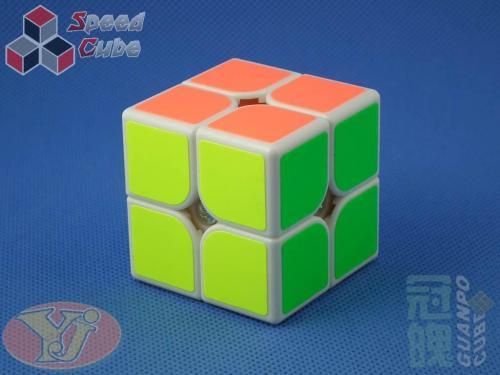 YongJun GuanPo Plus 2x2x2 Biała