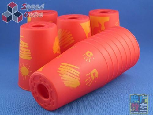 MoYu MoFang JiaoShi Stacking V2 Red