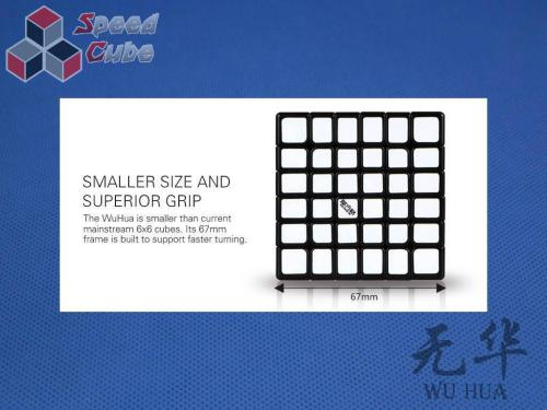 MoFangGe QiYi 6x6x6 WuHua Kolorowa