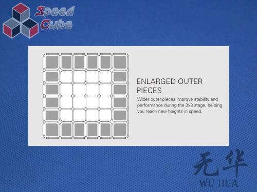 MoFangGe QiYi 6x6x6 WuHua Biała