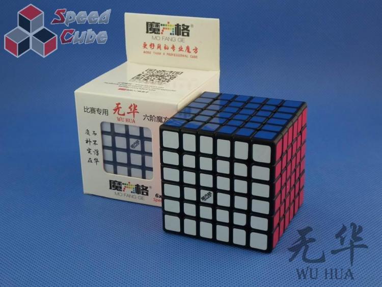 MoFangGe QiYi 6x6x6 WuHua Czarna