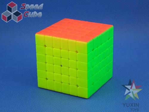 ZhiSheng YuXin Red Unicorn 6x6x6 Kolorowa