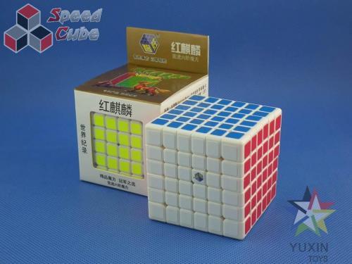 ZhiSheng YuXin 6x6x6 Unicorn Red Biała