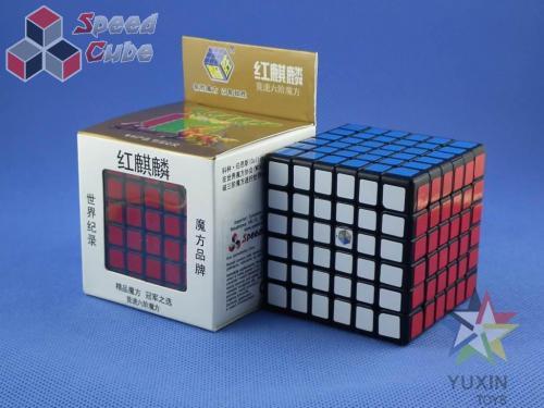 ZhiSheng YuXin 6x6x6 Unicorn Red Czarna