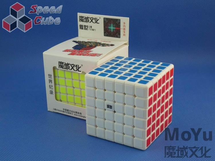 MoYu AoShi 6x6x6 Biała
