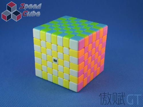 MoYu AoFu GT 7x7x7 Kolorowa PiNK