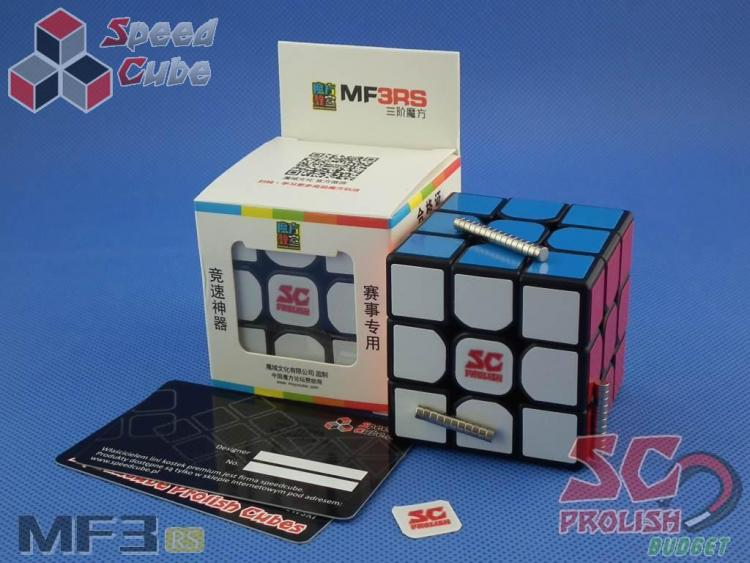 PROLISH MoFanG JiaoShi 3x3x3 MF3RS Czarna Magnetyczna