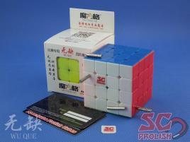 PROLISH MFG WuQue 4x4x4 Kolorowa Magnetyczna