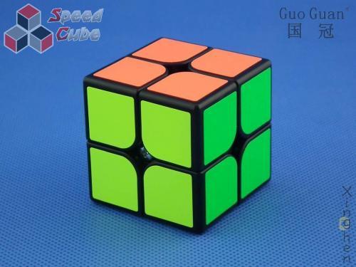 PROLISH MoYu GuoGuan XingHen 2x2x2 Black Magnet.