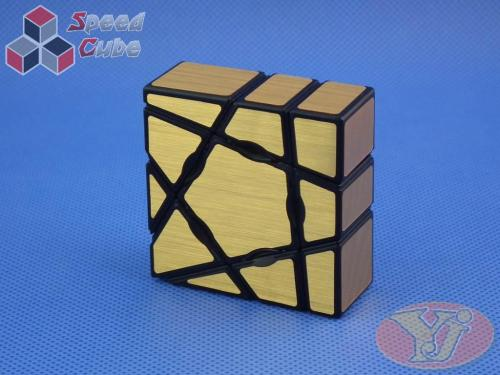 YongJun Floppy 1x3x3 Ghost Gold