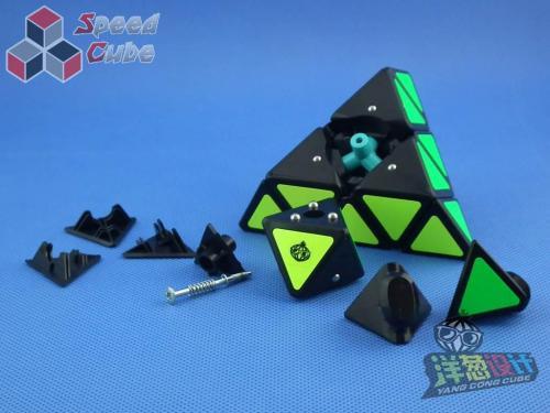 MoYu Cong's Design MeiChi Pyraminx Czarna