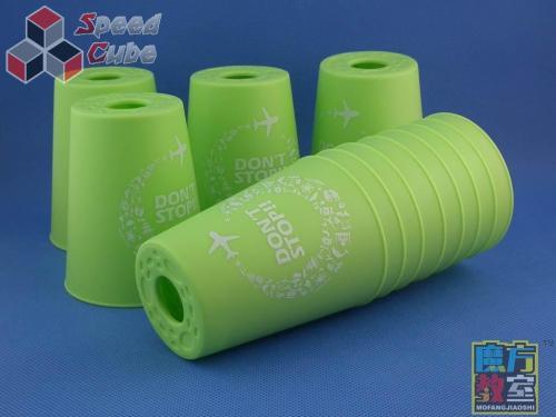 Kubki MoYu MoFang JiaoShi Stacking V1 Green