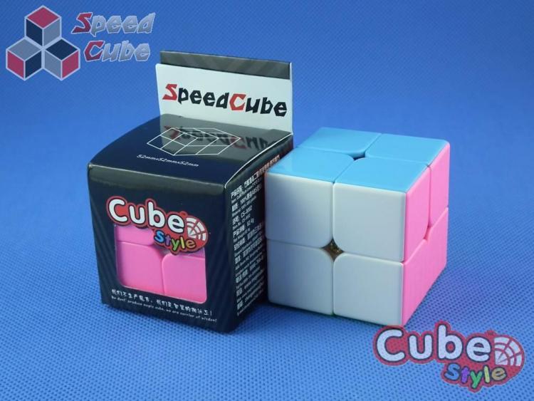 Cube Style 2x2x2 LeXus Kolorowa Pink