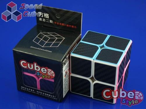 Cube Style 2x2x2 LeXus PiNK Carbon Stick.