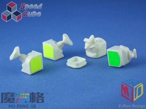 QiYi 3x3x3 MoFangGe X-man Tornado Biała