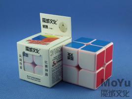 MoYu WeiPo 2x2x2 Różowa