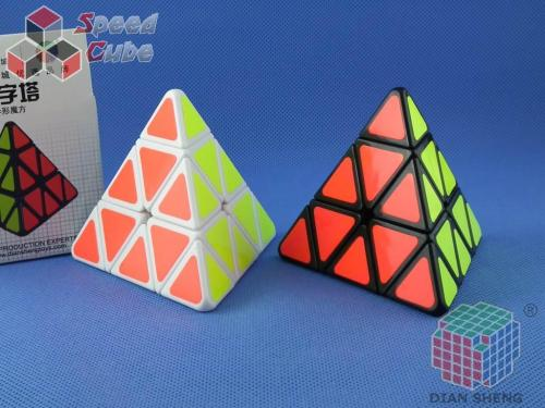 DianSheng Pyraminx Biała
