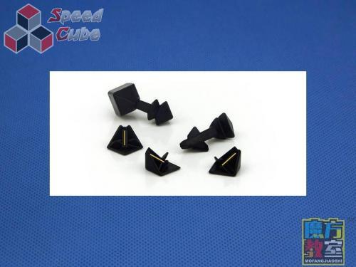 MoYu MoFang JiaoShi 4x4x4 MF4s Czarna