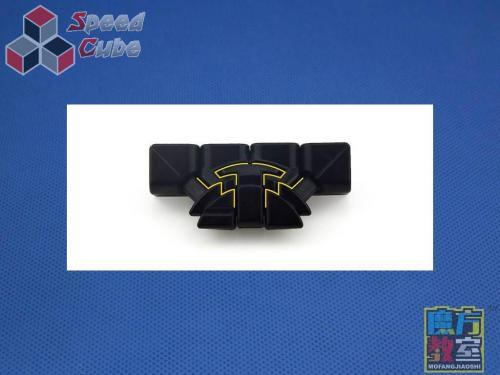 MoYu MoFang JiaoShi 4x4x4 MF4s Kolorowa