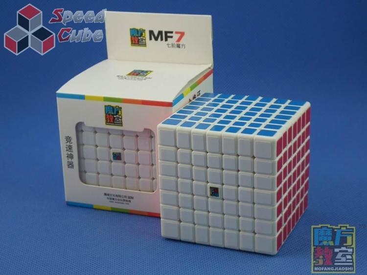 MoYu MoFang JiaoShi 7x7x7 MF7 Biała