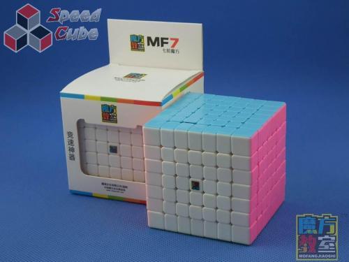 MoYu MoFang JiaoShi 7x7x7 MF7 PiNK