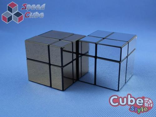 Cube Style Mirr-Two mirror 2x2x2 Silver
