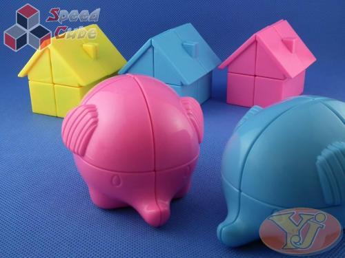 YJ Elephant 2x2x2 PiNK
