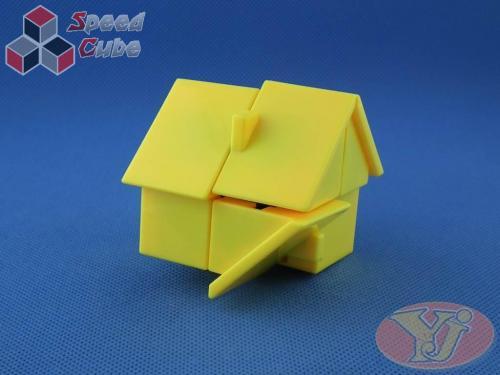 YJ House 2x2x2 Yellow