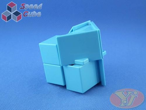 YJ House 2x2x2 Blue