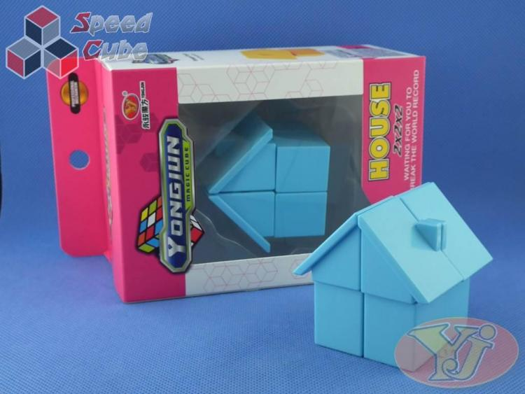 YJ House 2x2x2 Blue