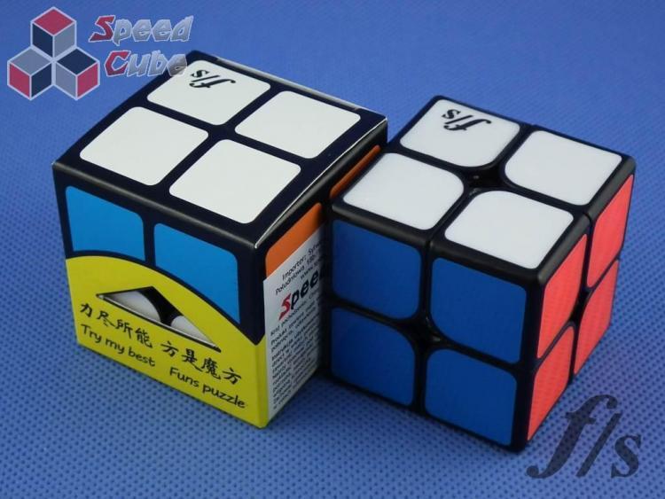 FangShi ShiShuang 2x2x2 Czarna 50 mm