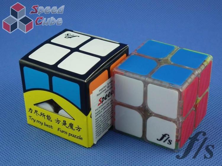 FangShi ShiShuang 2x2x2 Transparentna